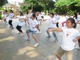Shaolin Wushu Senior Camping Experience