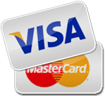 Visa or Mastercard